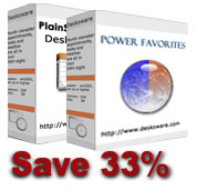 Desktop calendar and Power Favorites bundle