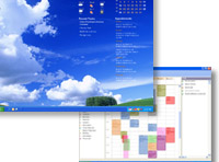 small screenshot of PlainSight Desktop Calendar